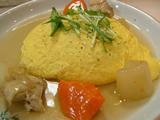 チキンと京野菜のオムライス