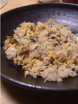 ひじき炒飯