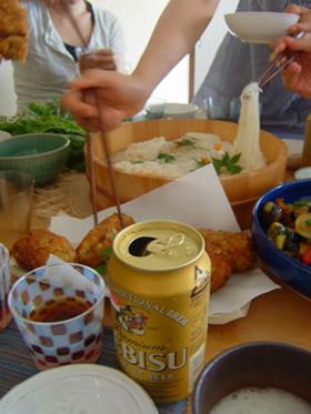 素麺パーティ