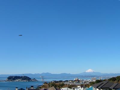 江の島と富士山