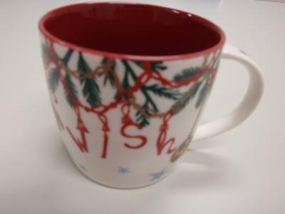 スタバのマグカップ(クリスマス編)