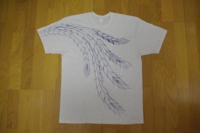 手描き友禅染めTシャツ