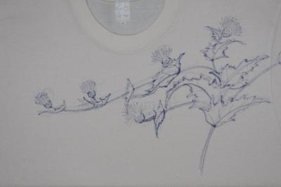 手描き友禅Tシャツ