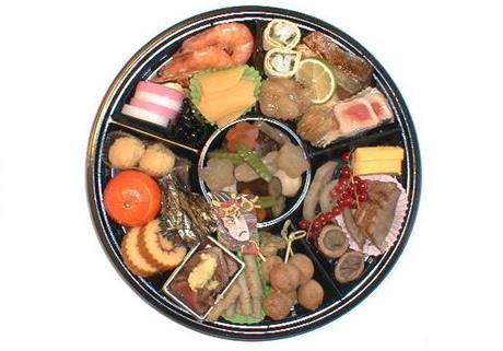 スイスの日本食材店うちとみのお節