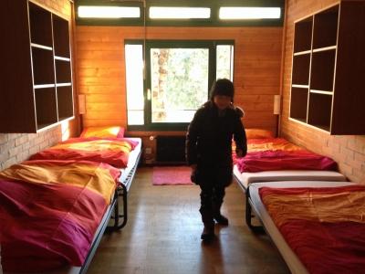 スイスのウインターキャンプ