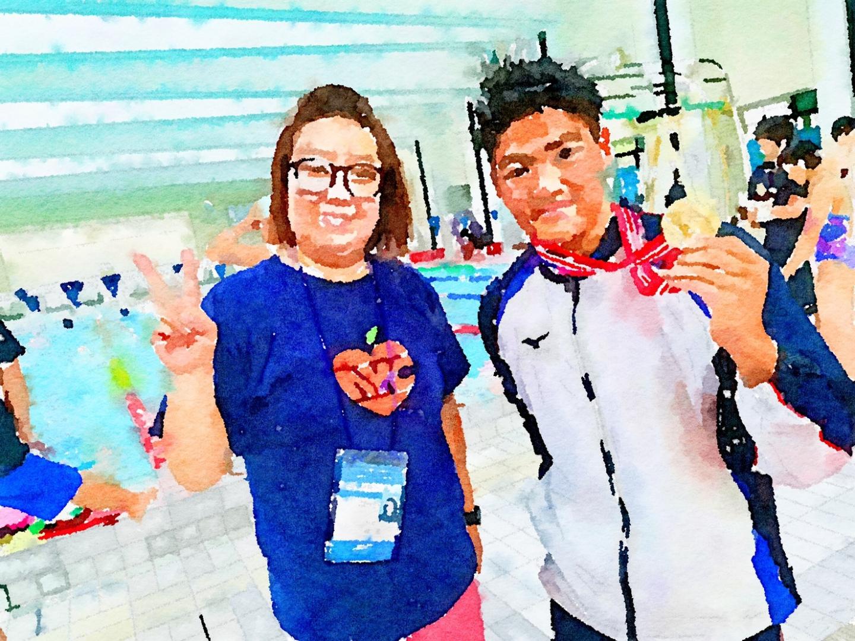 水泳 全国 大会 中学校 競技