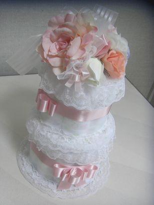 20100605 おむつケーキ2段レッスン