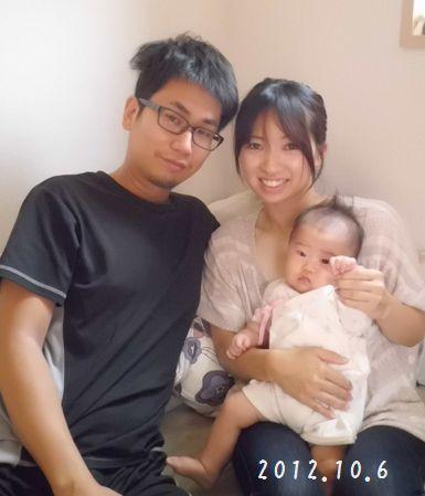 20121006☆ファミリーベビーマッサージ