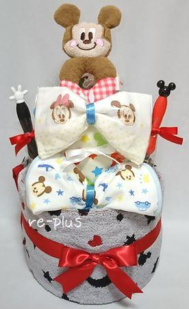ミッキーマウス☆おむつケーキオーダー