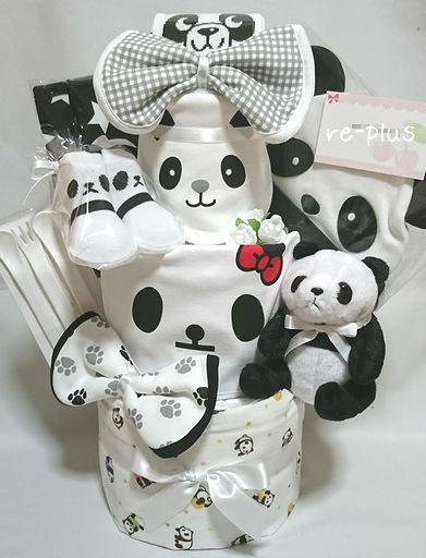 パンダ☆おむつケーキオーダー