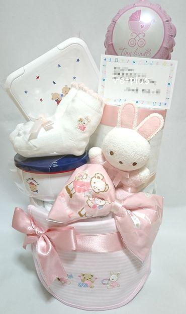 ファミリア☆おむつケーキオーダー