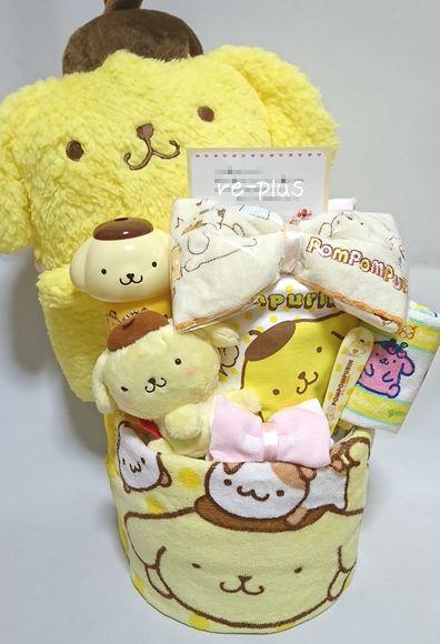ポムポムプリン☆おむつケーキオーダー