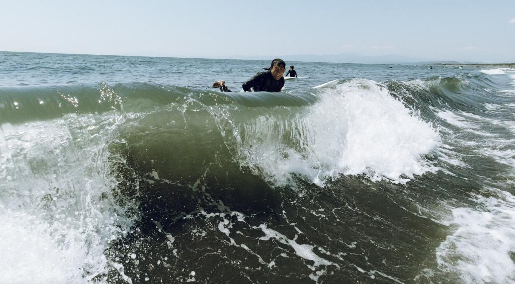 波の感覚を知る。