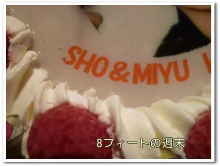 2011櫻井誕生祭ケーキ