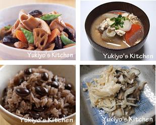 Yukiyo's Kitchen 腎を整える料理