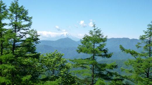 富士山まだ見える
