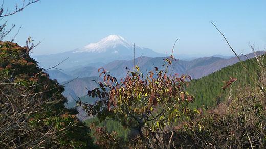 二ノ塔からの富士山