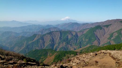 三ノ塔からの富士山