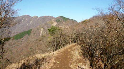 表尾根から塔ノ岳