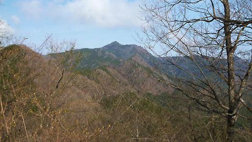 次のターゲット大岳山