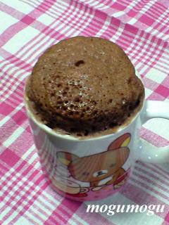 マグカップ蒸しケーキ