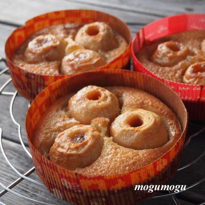 姫林檎のケーキ