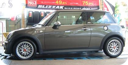 BMW MINI COOPER-S BBS RG-F 16inch