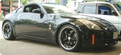 ★Z33★WORK VS-KF 19inch★装着イメージ★
