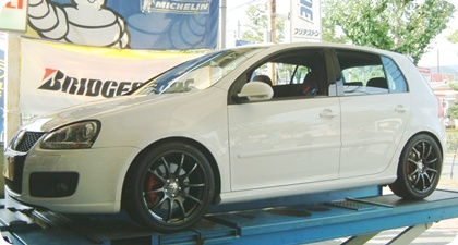 ★VW GOLF5 GTi★YOKOHAMA WHEEL ADVAN RZ★18inch★