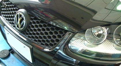 VW GOLF5 GTi フロントグリル