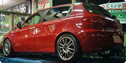 アルファロメオ147 ENKEI Wheels GTC01