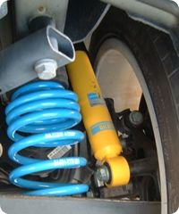 BILSTEIN BTS KIT for-AUDI A3 リア装着画像