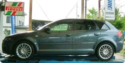 Audi A3 3.2 Quattro Bilstein + Eibach Set Before