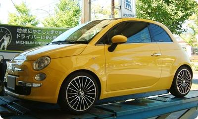 FIAT500+BILSTEIN BSS Kit