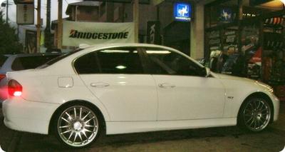 BMW 3-Series E90 + Rays