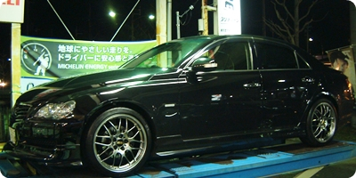TOYOTA MARK-X with BBS RG-R 19inch!!