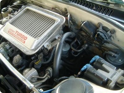 RX-7(FC3S)エンジンプラグ交換