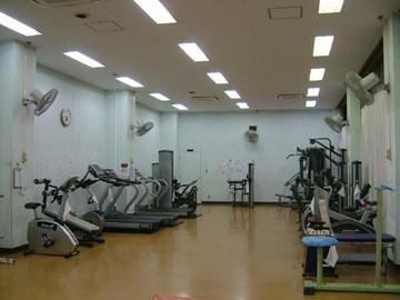 練馬区立勤労福祉会館 トレーニング室 一新
