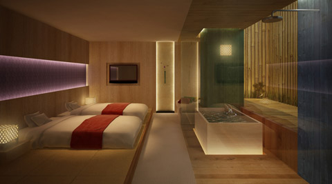 新神戸 ホテル 露天風呂 客室
