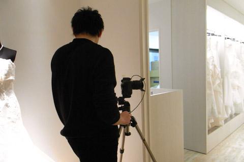 姫路のドレスショップ ブライダルマジック 写真撮影