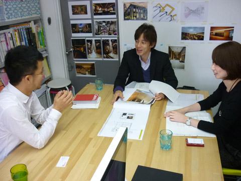 苦楽園のS邸プロジェクト カッシーナ 家具