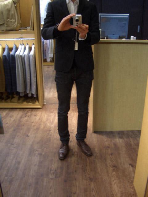 オーダースーツ グローバルスタイル 神田中央通り店 ジャケットサイズ