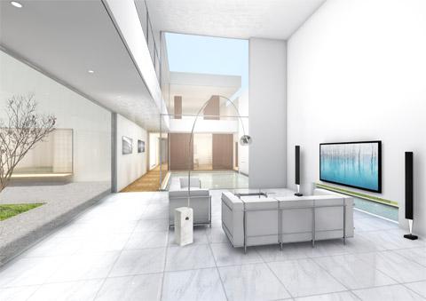 滋賀県 滋賀のレジデンス 邸宅 戸建て住宅 新築 内観 CGパース