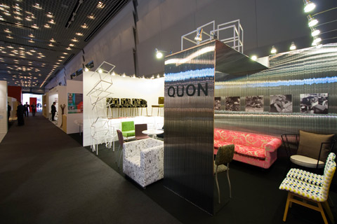 LIVING&DESIGN QUON ブースデザイン