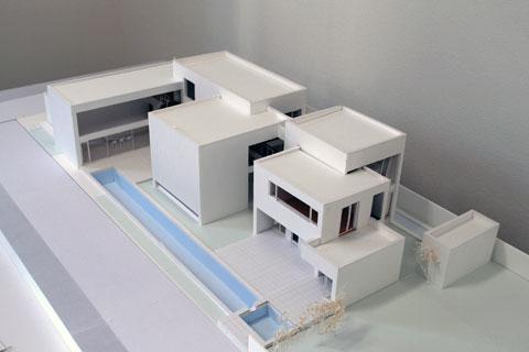 長浜の住宅 模型