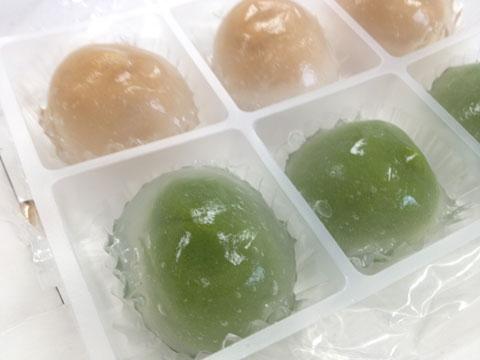 京都 東山茶寮 水まんじゅう