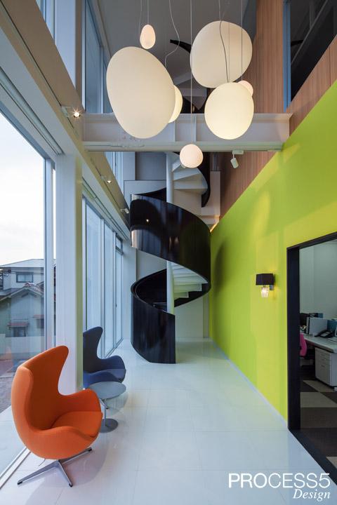 タカギ産業 本社オフィス 設計デザイン 竣工写真