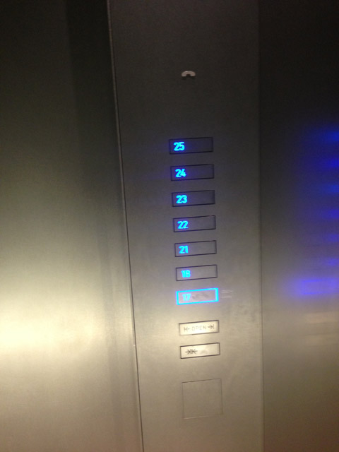 ハルカス エレベーター