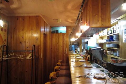 La Cucinetta Yamaoka 奈良 イタリアン 設計デザイン 改修前