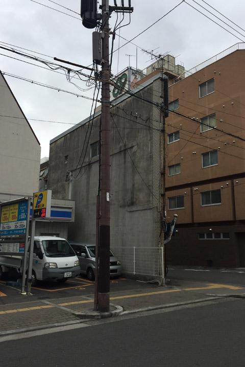 薄い 建物